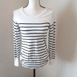 H&M Lightweight Striped Maternity Sweater S